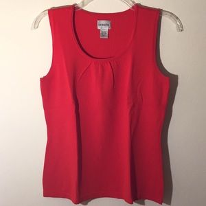 ⛄️Chico's Tomato Red Tank Sweater - Size 1